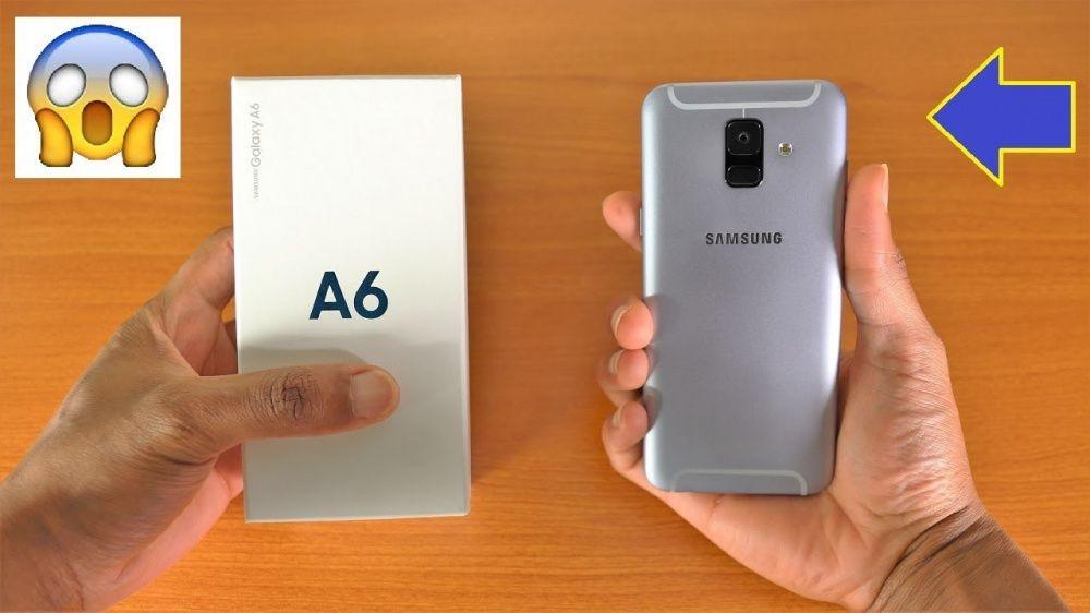 Samsung A6 2018/novos na caixa !