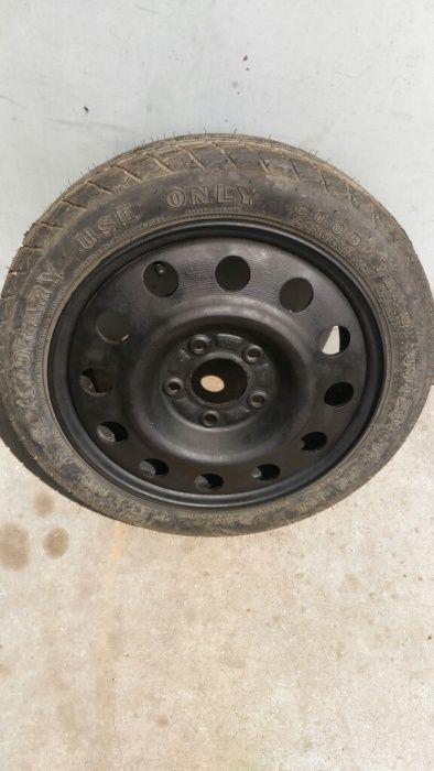 Резервна гума патерица 5х115 Опел 15 цола.