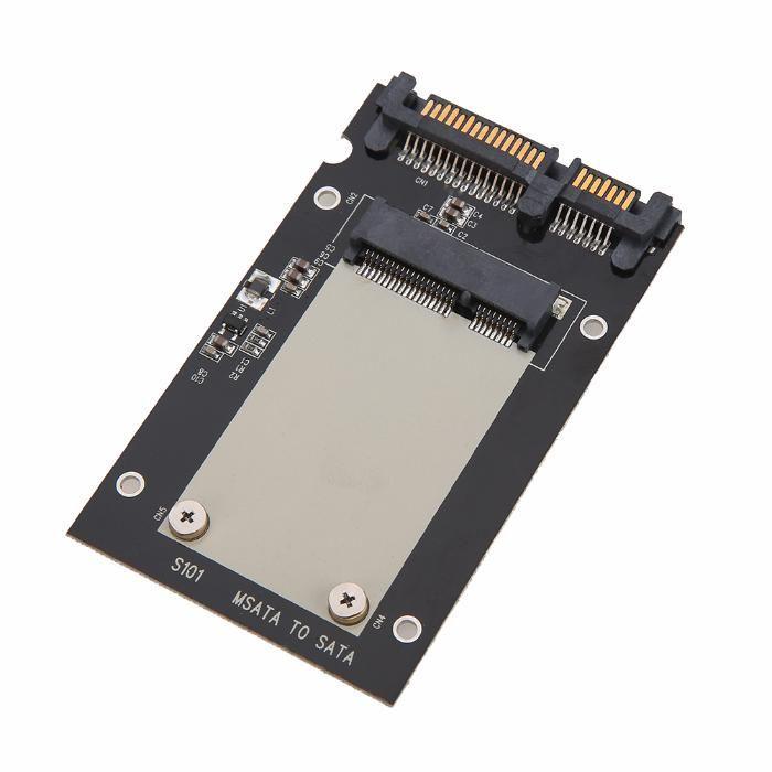 Adaptor SSD mSATA la SATA 3 pt ssd-uri mSATA de 50mm mini PCI-E