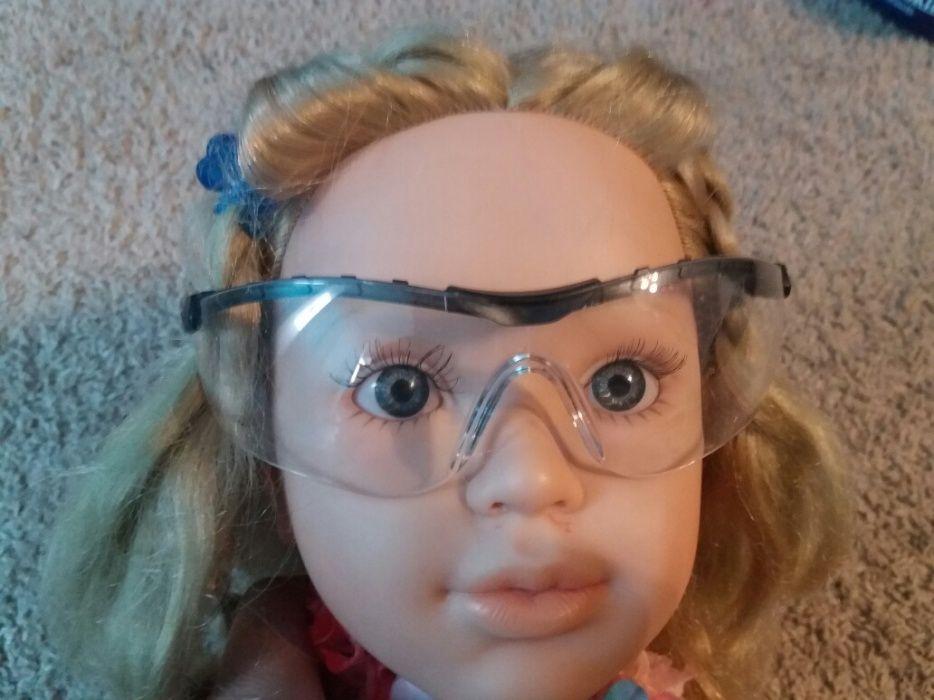 Ochelari protectie Infield transparenti glass-reinforced antiaburire