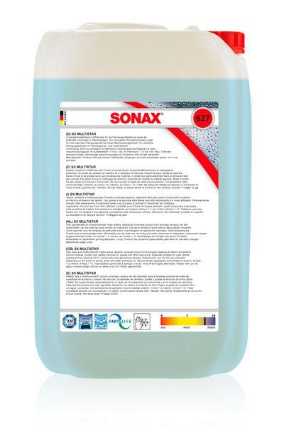 Sonax Multi Star най-добрия препарат за почистване и пране