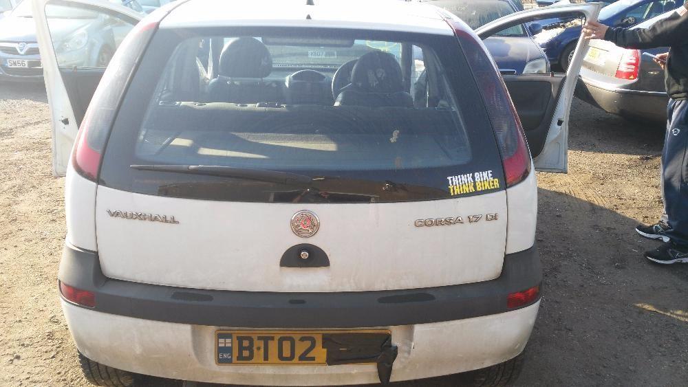 Dezmembrez Opel Corsa C 1.7 DTI Isuzu