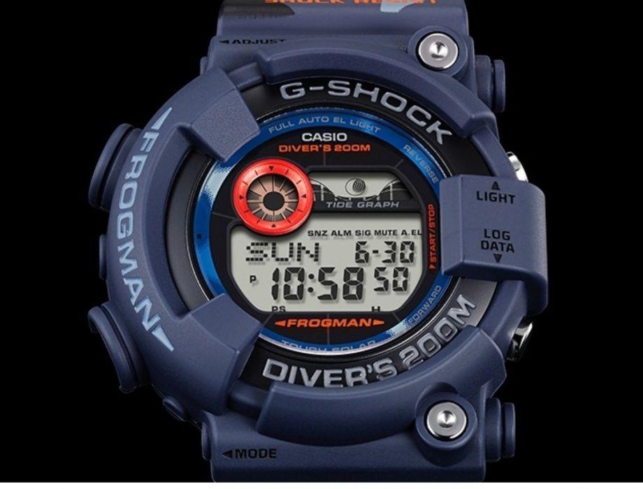 Наручные часы Casio GF-8250CM-2E Frogman для дайвинга