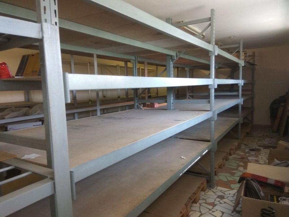 Стеллаж складской заводского изготовления