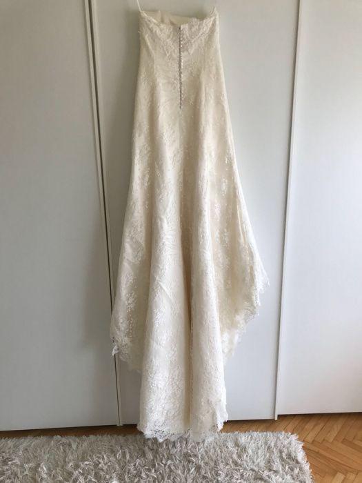 Vând rochie de mireasă impecabil mărime 44 original Made in Italy