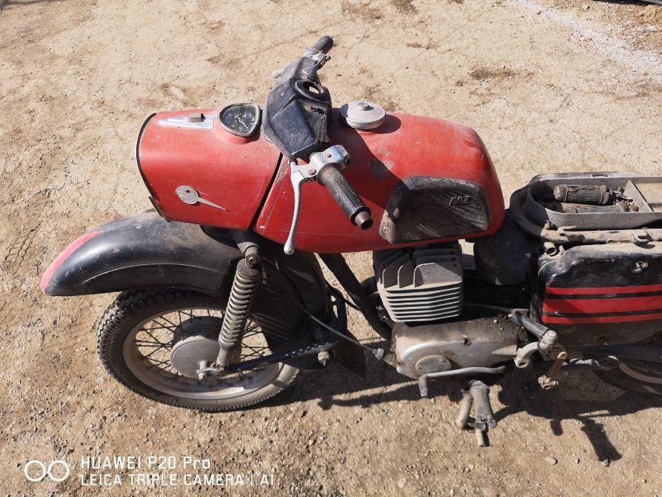 Mz Мз Ес 250/2 Трофи. Мотора се продава на части