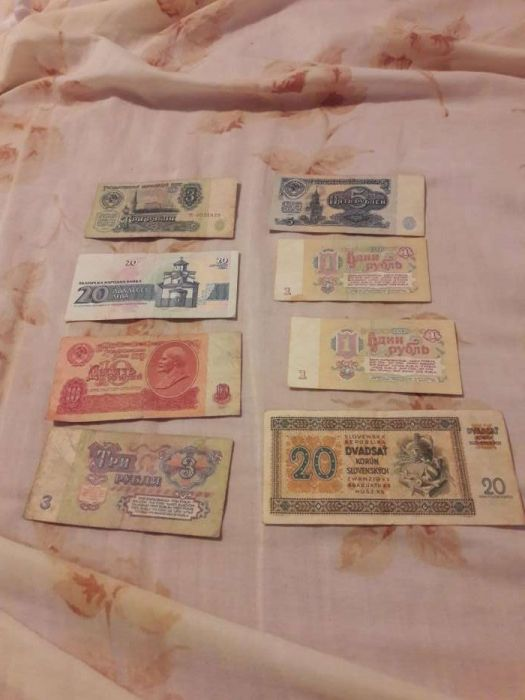Vand bani vechi straini schimb cu diverse