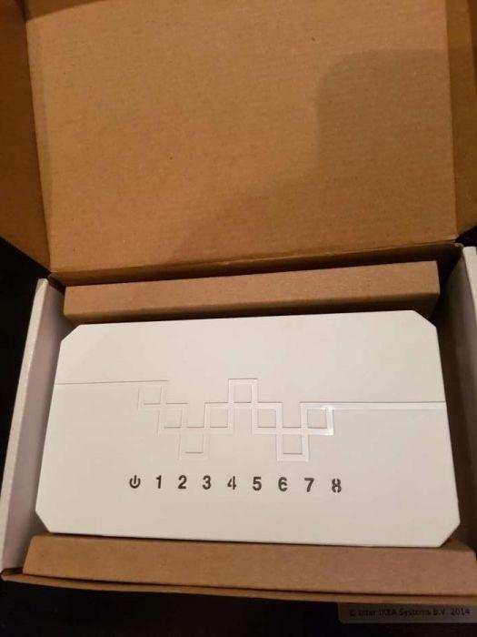 Switch 8 porturi net lan