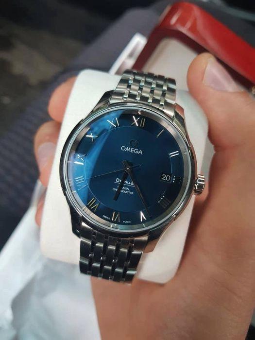 Автоматичен часовник Omega deville купен 2017г с гаранция