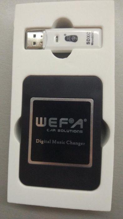 Музикален MP3 интерфейс WEFA с вграден BLUETOOTH 4.0 за Volvo