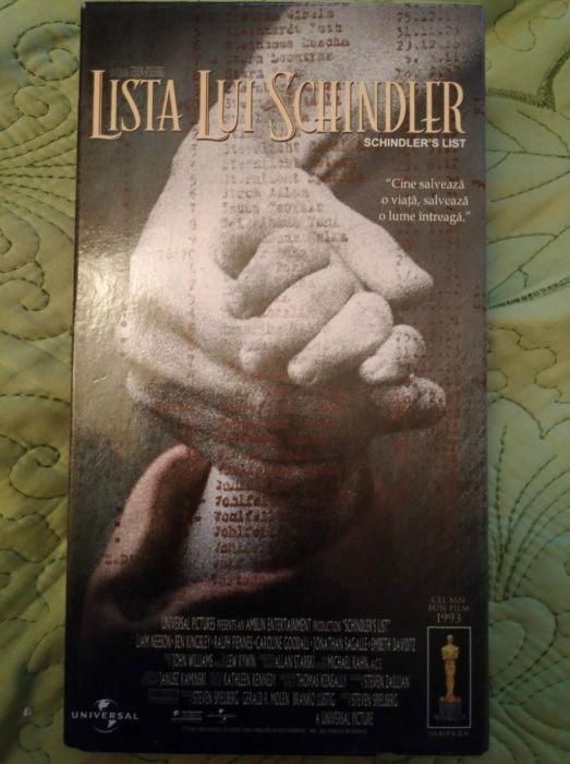 LISTA LUI SCHINDLER caseta video ORIGINALA 11 premii Oscar