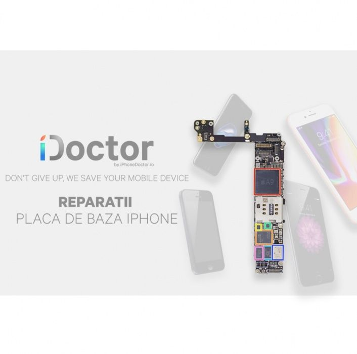 Reparatie placa de baza iPhone