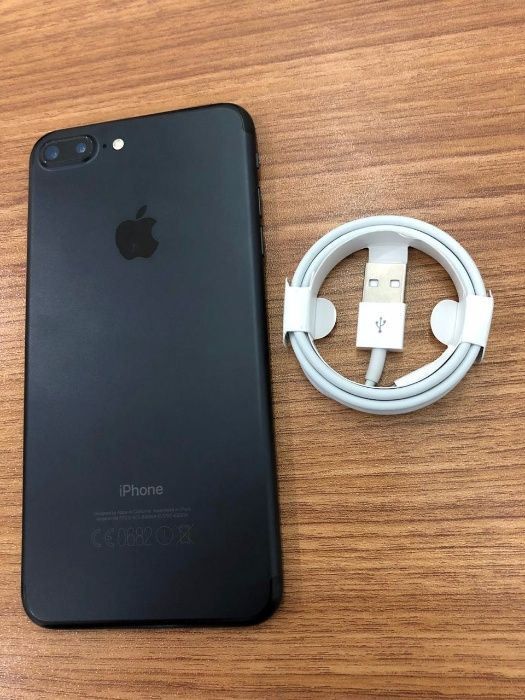Iphone 7 plus Mate Black 128gbs