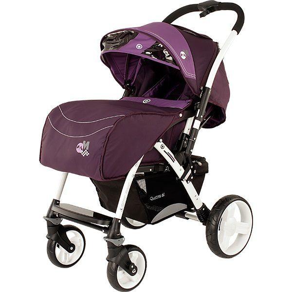 Коляска-книжка Quatro Monza 9 Purple (Фиолетовая)