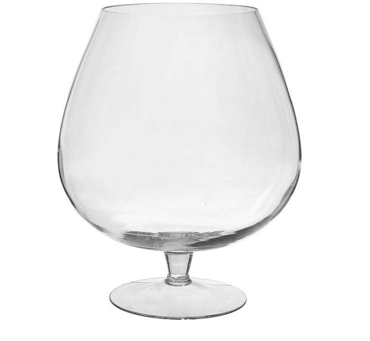 Аквариум ваза-бокал