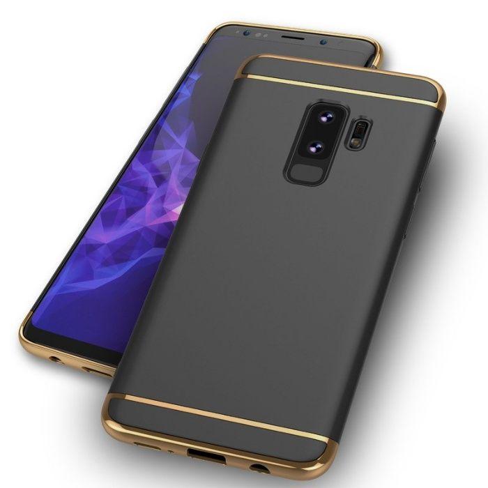 Husa Elegance Luxury 3 in 1 pentru Samsung S9 Plus Neagra