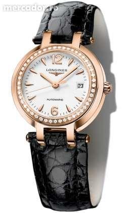 ceas LONGINES PRIMA LUNA:aur+diamante-cadou ideal aniversare, logodna)