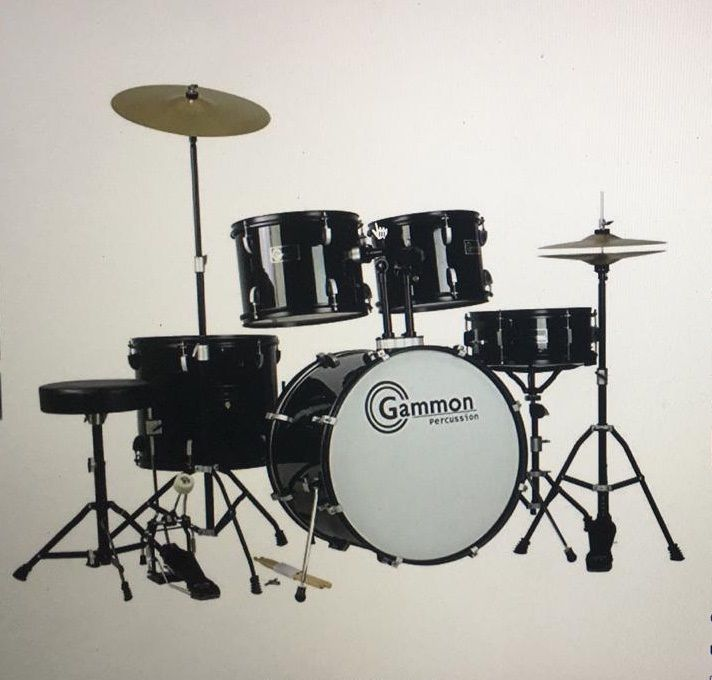 Bateria completa - Drum Kit