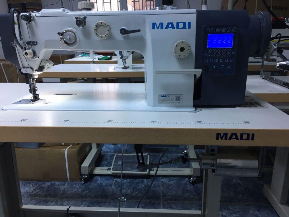 Masina cu dublu transport pentru cusut piele, model MAQI 640E