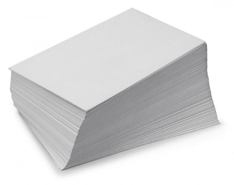 бумага мелованная односторонняя 620х940 мм
