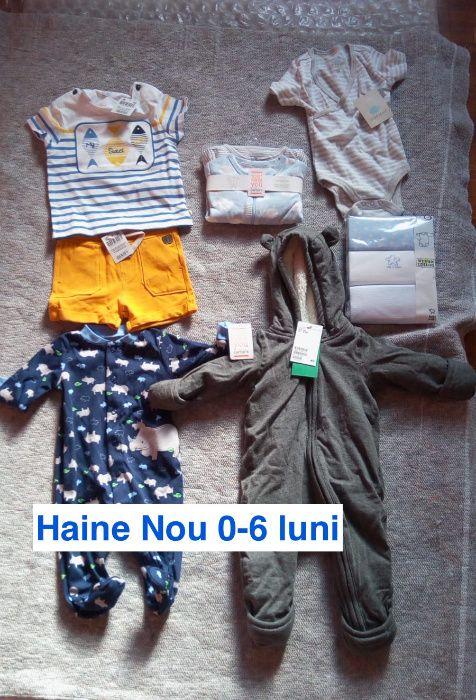 Haine Bebelus-0-6 luni-Diverse (Noi cu etichete)