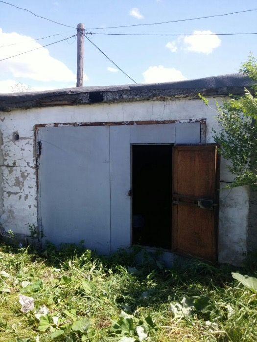 Продам гараж 6х4 кирпичные стены,потолок плита в п.Касыма Кайсенова