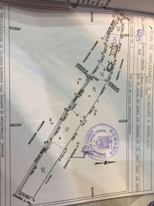Vând teren goranu straubing/variante cu case sau apartamente