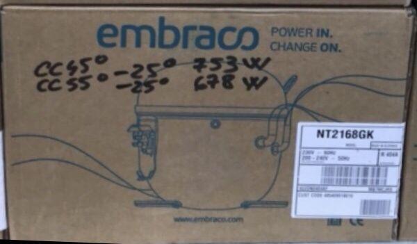 Motor aspera embraco nt2168gk compresor vitrina camera frigorifica