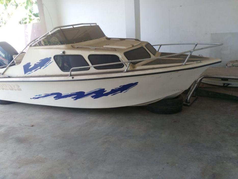 Barco Operacional   Motor: YAMAHA   Modelo: 90   Em bom estado Bairro do Jardim - imagem 1