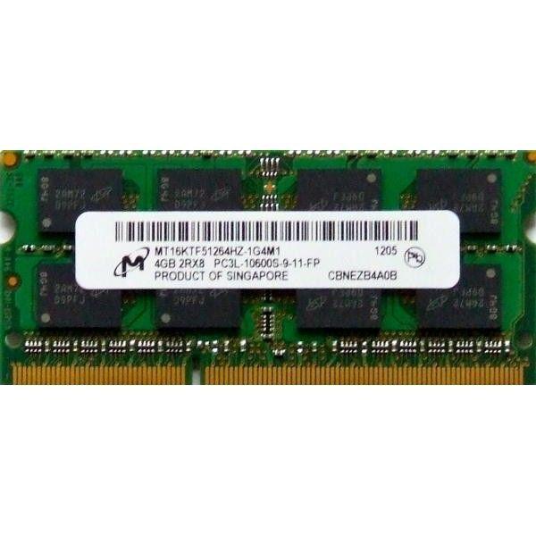 Memorie laptop Micron 4GB DDR3 PC3L-10600 1333MHz