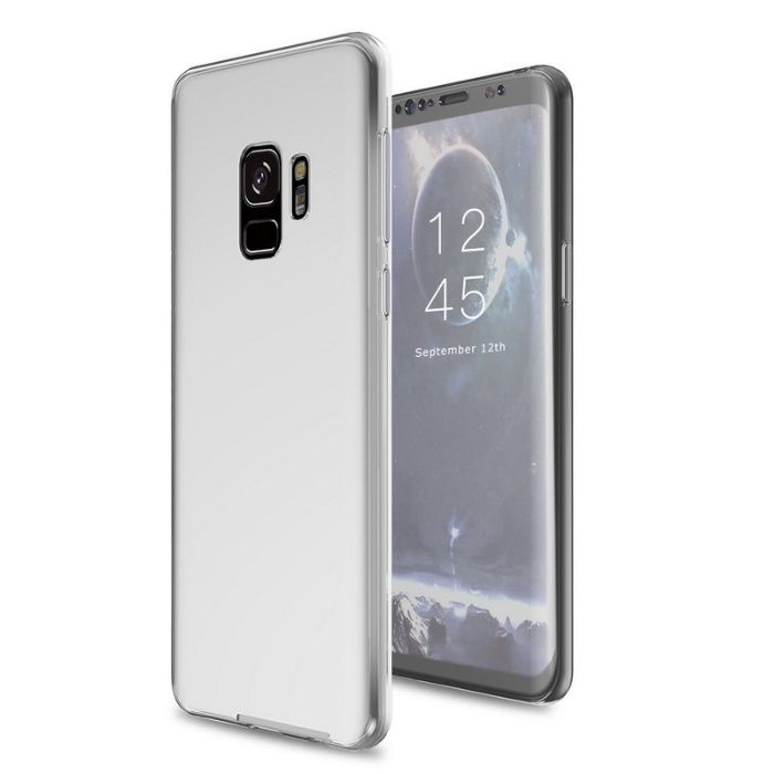 Samsung S9 S9 Plus - Husa 360 Fata si Spate Din Silicon Transparenta