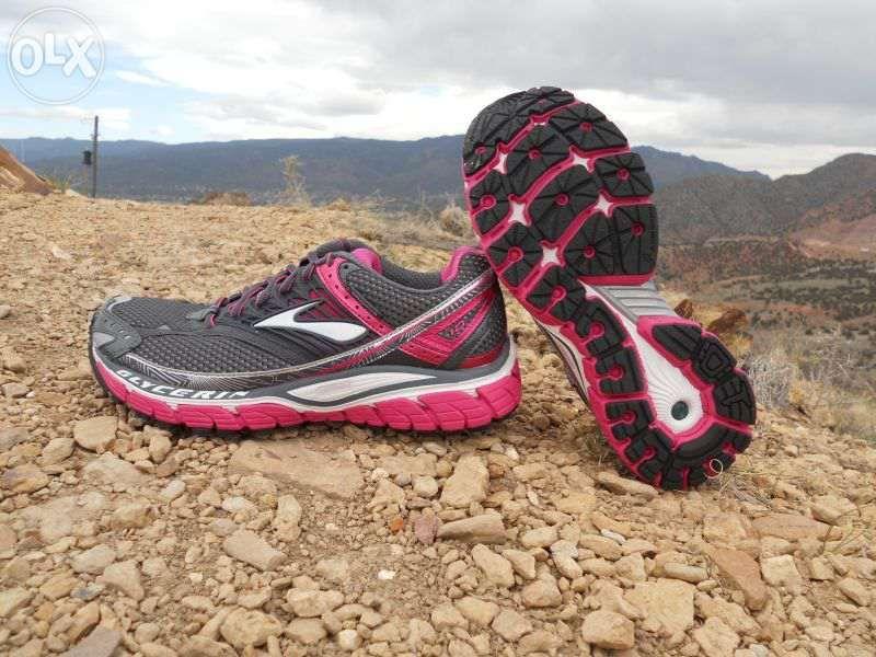 маратонки Brooks Глицерин 10 сиви / розови дами Brooks 39 номер БЕЗПЛА