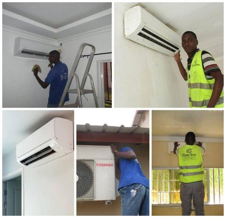 Manutenção e Instalação de aparelhos de ar condicionado split e janela