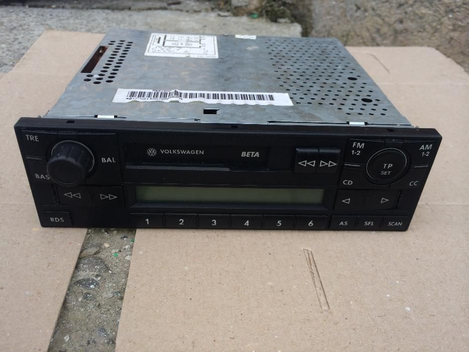 Radio Casetofon VW Beta