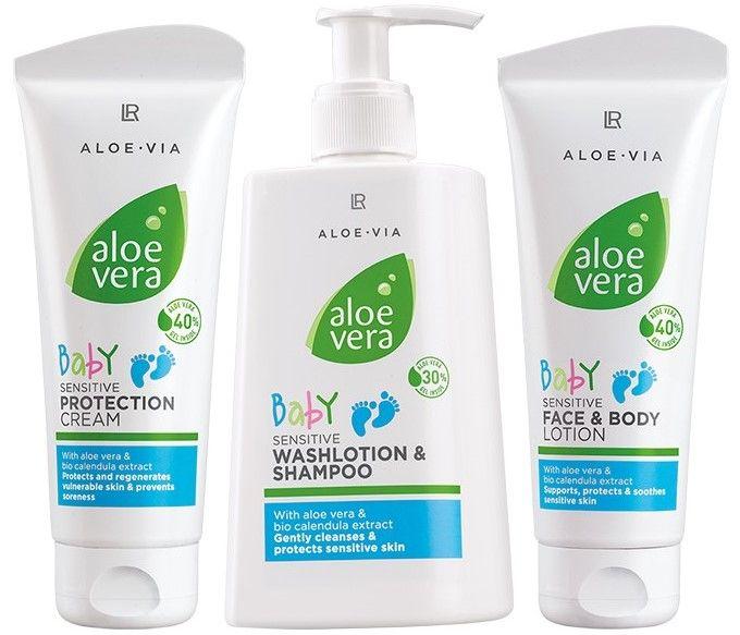 Aloe Via Pielea bebeluşilor este sensibilă şi necesită o îngrijire