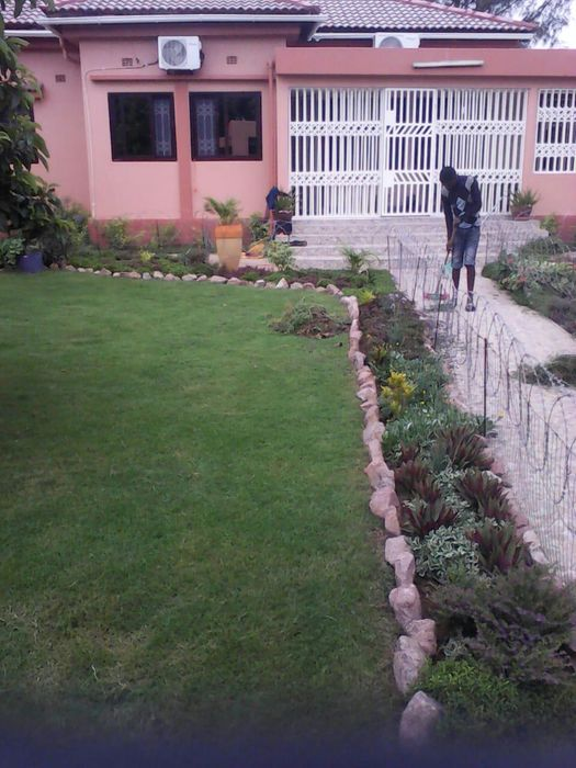 Montagem de jardins