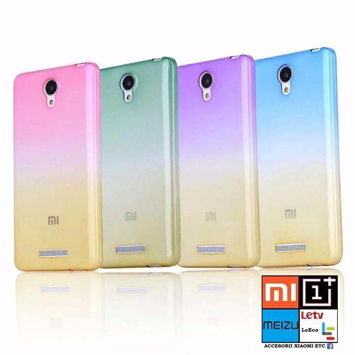 Huse Silicon Color Xiaomi Redmi Note 1, 2, 3, Mi-5, Redmi 3, 3s/3 Pro