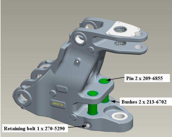 Bolturi bucsi buldoexcavator Caterpillar 428B 428C 428D 428E 438B 438D