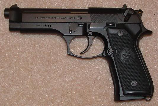 Pistol *MODIFICAT* airsoft beretta CO2 Cu AER COMPRIMAT