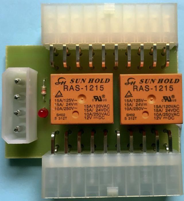 Add2psu 20pin - модул за второ и трето захранване нов модел