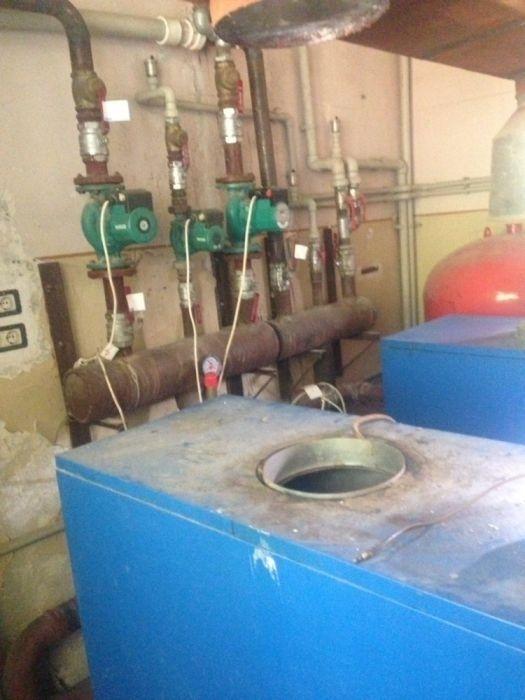 Centrală termică pe gaz 110kw