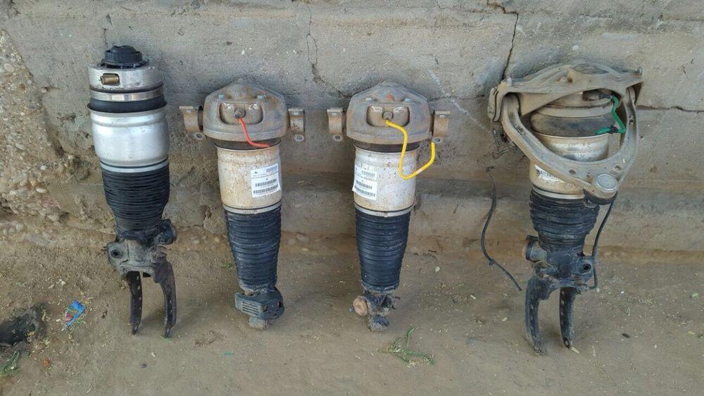 Amortecedores pneumáticos de Touareg