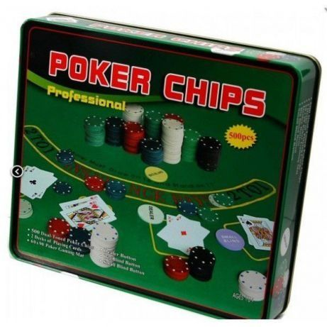 Poker 100/200/300/jetoane 500 chips Sigilat