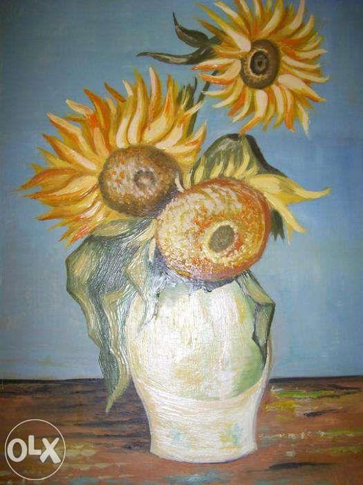 Pictura in ulei reproducere Van Gogh pe panza