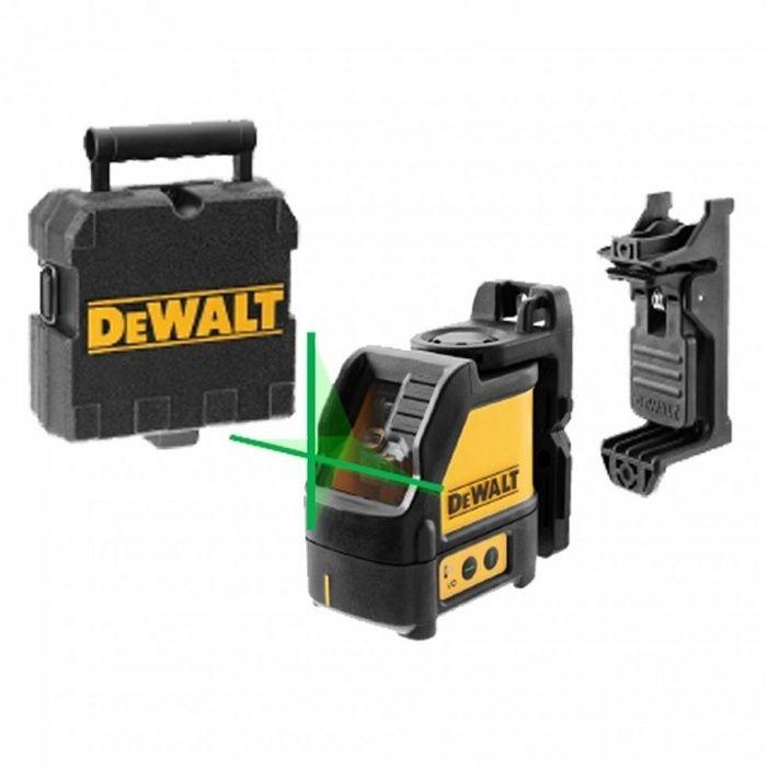 Лазерен нивелир DeWALT DW088CG линеен 20 м, 0.3 мм/ 1 м - 3год.гара.н