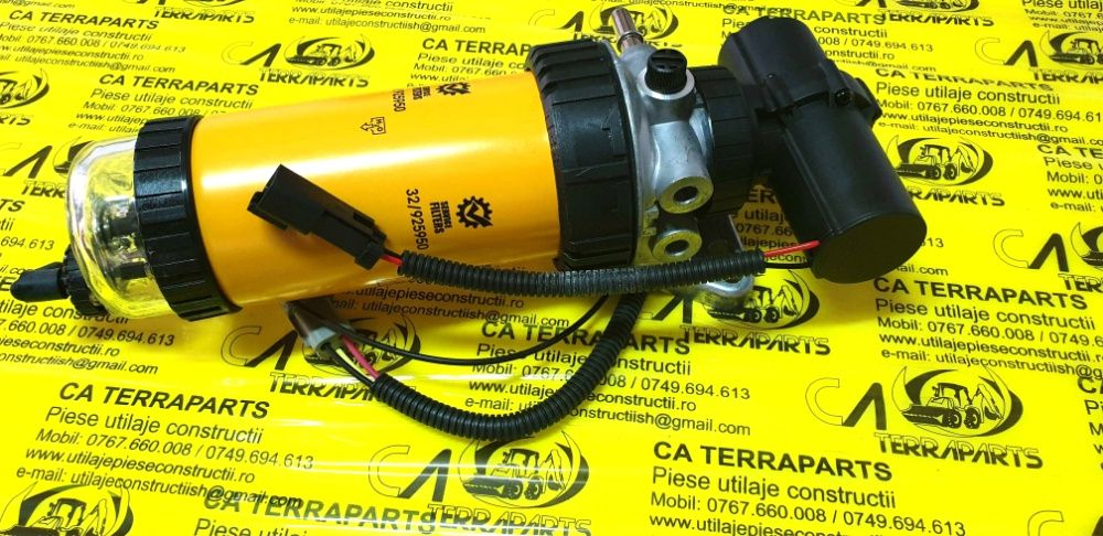 Filtru electric combustibil Jcb 3CX, 4CX