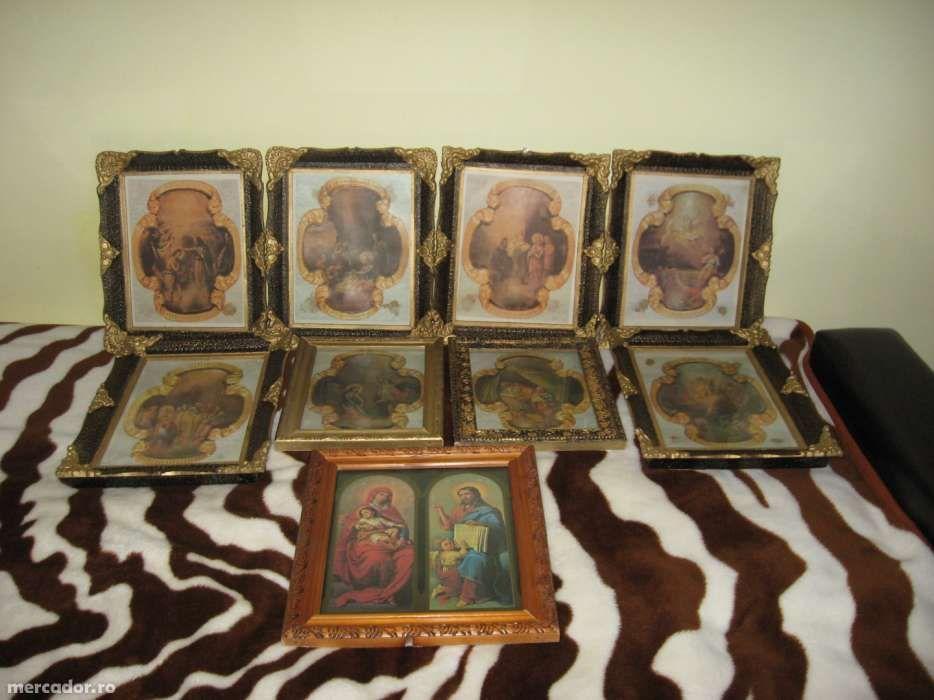colectie icoane vechi de peste 45 ani