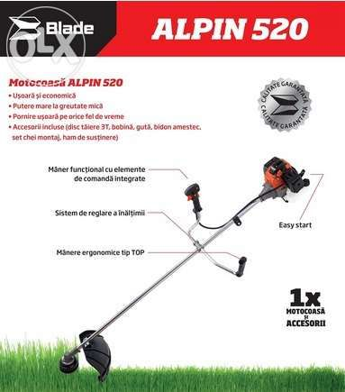 Motocoasa Alpin 520