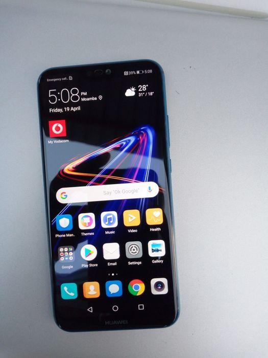 Huawei P20 lite fora da caixa