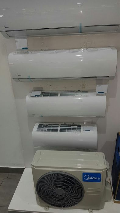 Ar condicionado Midea split 9000BTU novos na caixa